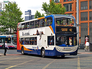 Stagecoach in Manchester bus 19242 (MX08 GLZ), 25 July 2008.jpg