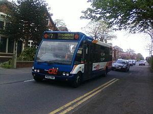 Stagecoach in Preston - Bus 7