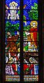 Stained glass window in the Basilica of Saint Denis, Paris, France 01.jpg