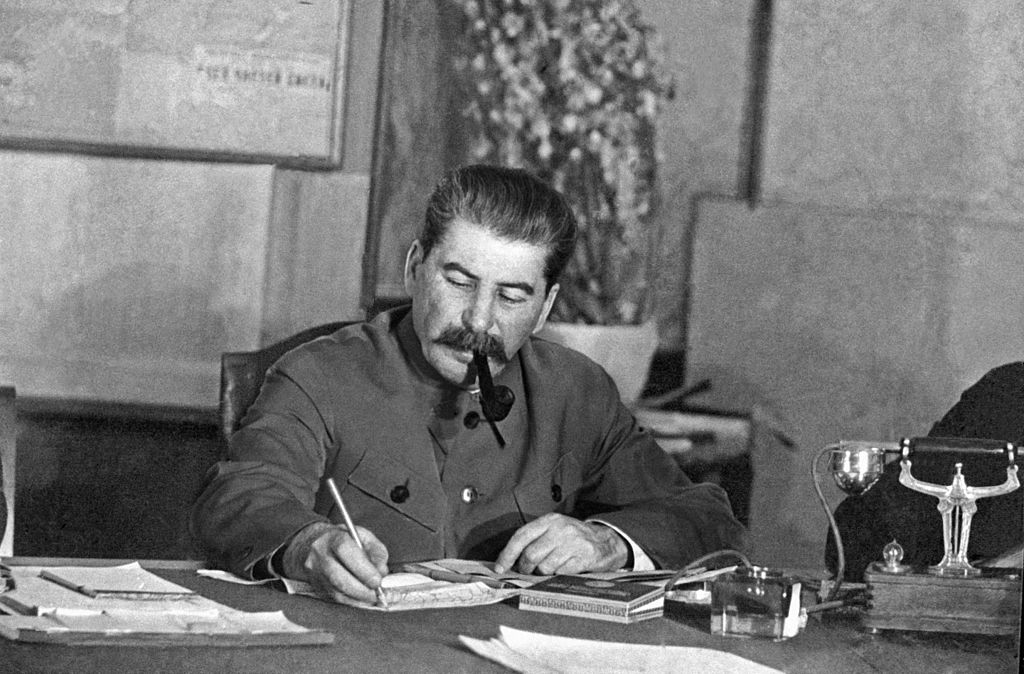 Stalin in March 1935