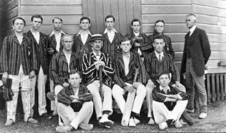 The Southport School - School cricket team ca. 1912