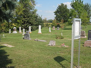 Steelesville Cemetery - Steelesville Cemetery in 2009