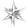 Stellation icosahedron Ef1df2.png