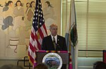 Steve Pearce speaking at Department of Interior headquarters signing event for federal-state-tribal agreement.jpg