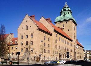 Carl Westman - The Stockholm Courthouse