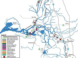 Stockton Deepwater Shipping Channel