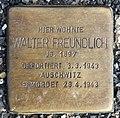 Stolperstein Altonaer Str 26 (Hansa) Walter Freundlich.jpg