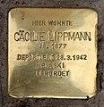 Stolperstein Bayerische Str 12 (Wilmd) Cäcilie Lippmann.jpg