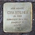 Stolperstein Emser Str 37 (Wilmd) Cora Berliner.jpg