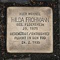 Stolperstein Eschenheimer Anlage 20 Hilda Frohmann.jpg