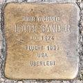 Stolperstein Lotte Sander by 2eight 3SC1489.jpg