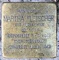 Stolperstein Pariser Str 17 (Wilmd) Martha Fleischer.jpg