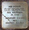Stolperstein Sächsische Str 72 (Wilmd) Else Schendel.jpg