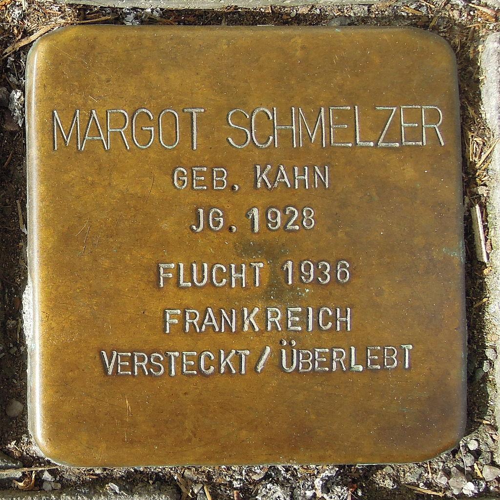 Stolperstein Saarburg Graf-Siegfried-Straße 39 Margot Schmelzer.JPG