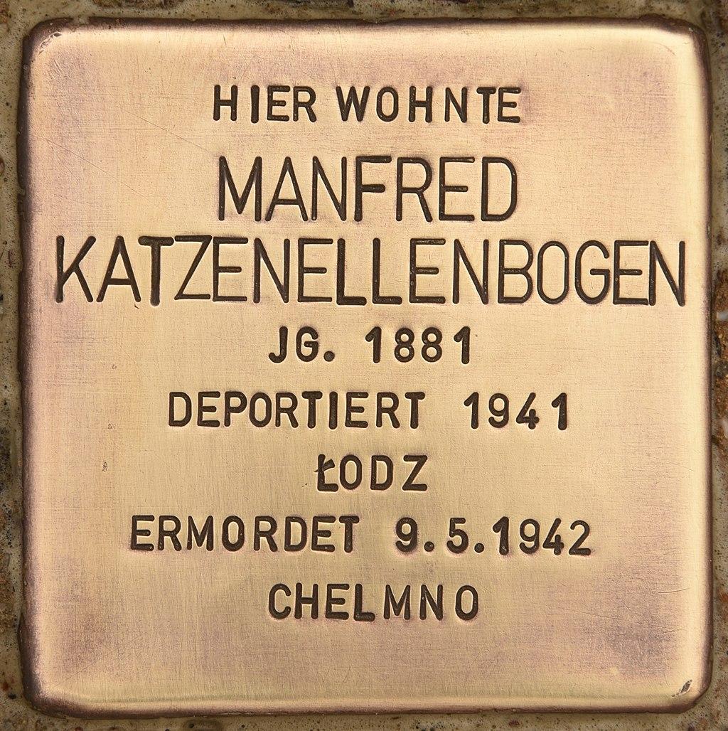 Stolperstein für Manfred Katzenellenbogen (Liebenwalde).jpg