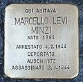 Stolperstein für Marcello Levi Minzi (Padua).jpg