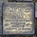 Stolpersteine Ootmarsumsestraat 69, Almelo Rosalie Meijers Caffé.JPG