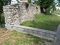 Stone wall with supports in Pajta St, 2016 Veszprém.jpg