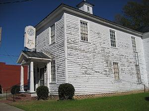 Robersonville, North Carolina - Stonewall Masonic Lodge / Eastern Star