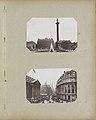 Straatgezicht in Londen met links Mansion House en midden links de ingang van Queen Victoria Street en midden rechts Poultry London - Mansion House, Queen Victoria Street, Poultry. (titel op object), RP-F-F01134-AF.jpg