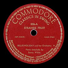Commodore Records label