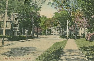 Newmarket, New Hampshire - Image: Street View, Newmarket, NH