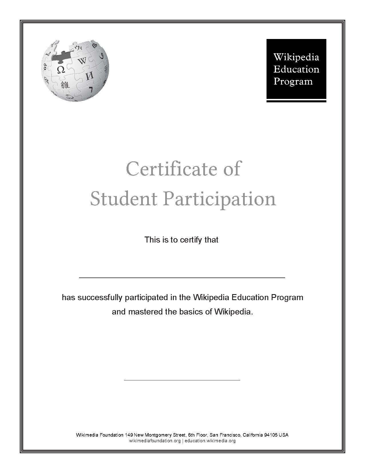 Educationnewsletterjune 2015new Recognition Certificates For