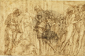 St. James Led to His Execution - Preparatory drawing for St. James Led to His Execution