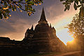 Stupa (Chedi) Phrasrisanpetch Temple of Ayudtaya Thailand.jpg