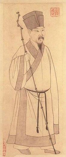 Portrait de Su Shi.