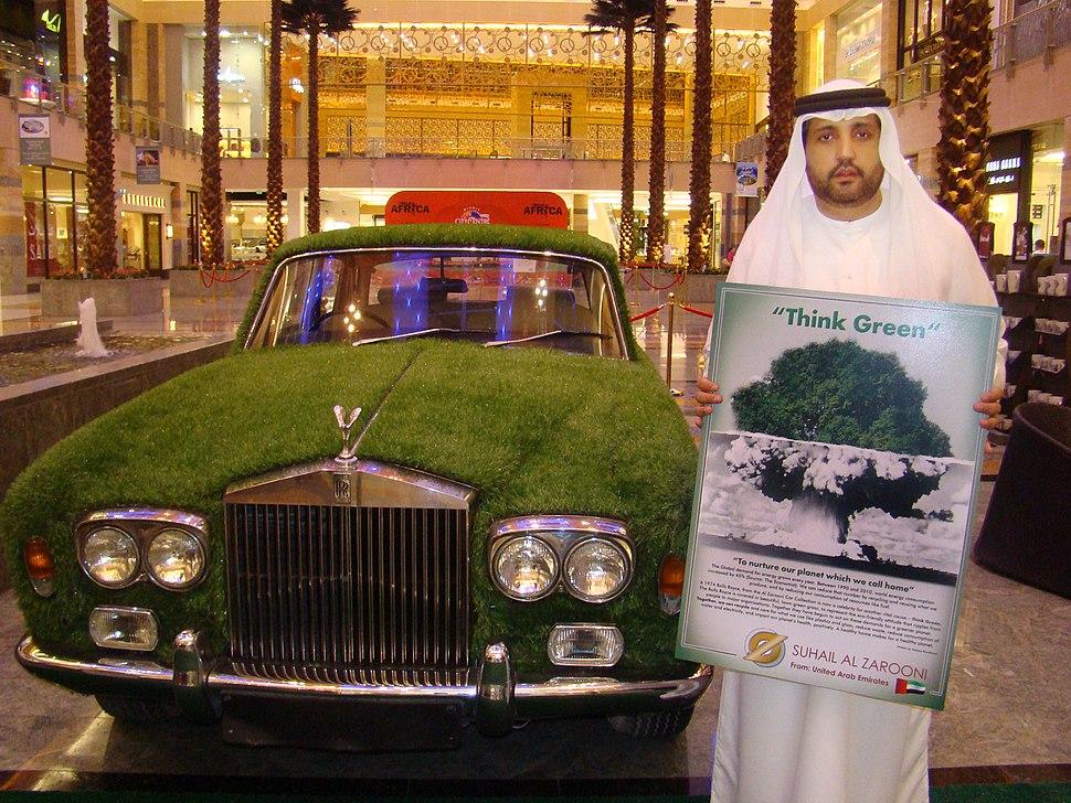 Suhail Al Zarooni Rolls Royce Think Green