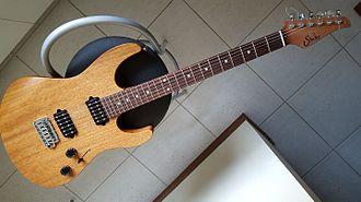 Suhr Guitars - Suhr Modern Satin, natural finish.