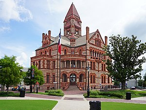 Sulphur Springs June 2015 02 (Hopkins County Courthouse).jpg