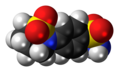 Sultiame molecule spacefill.png