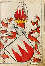 Das ältere Wappen (Scheibler'sches Wappenbuch 1450/80)