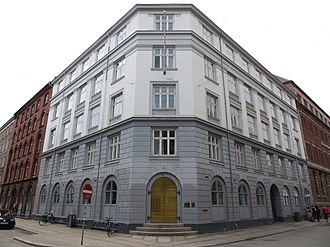 Ministry of Health (Denmark) - Headquarters of the Danish Ministry of Health at Holbergsgade 6 in Copenhagen