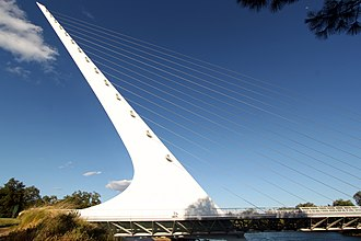 Redding, California - Sundial Bridge at Turtle Bay
