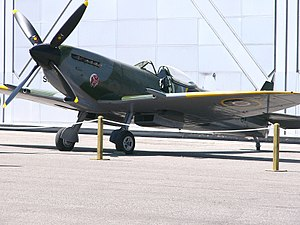 Vintage Wings of Canada - Vintage Wings Spitfire Mark XVI