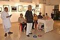 Susanta Banerjee Addresses - Group Exhibition Inauguration - PAD - Kolkata 2016-07-29 5257.JPG