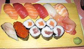 Image illustrative de l'article Sushi