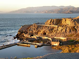 Sutro Baths - The ruins in the late afternoon