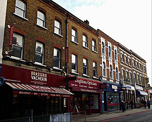 Conservation areas in Sutton, London - Sutton High Street within the conservation area