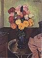Suzanne Valadon - Blumenvase auf einem runden Tisch - 1920.jpeg