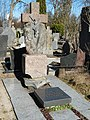 Svėdasų kapinės, Vaižganto tėvų kapas.JPG