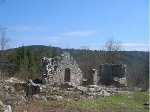 Rak Škocjan - The ruins of St. Cantianus's Church