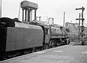 Swansea Victoria railway station - September 1962