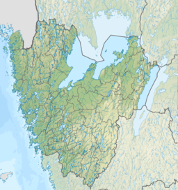 Sweden Västra Götaland relief location map.png
