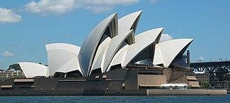 Danish design - Utzon's Sydney Opera House, 1973