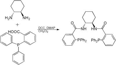 Synthese des Trost-Liganden