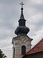Szent György templom, torony, 2017 Pomáz.jpg